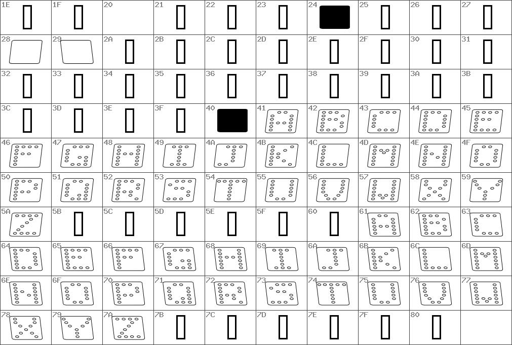 Dominofladkursivomrids