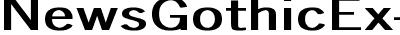NewsGothicEx-Bold