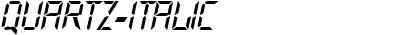Quartz-Italic