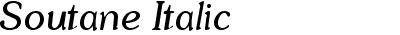 Soutane Italic