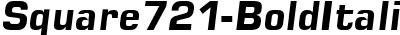 Square721-BoldItalic