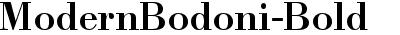 ModernBodoni-Bold