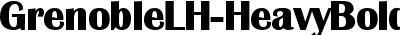 GrenobleLH-HeavyBold