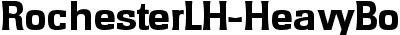 RochesterLH-HeavyBold