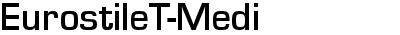 EurostileT-Medi