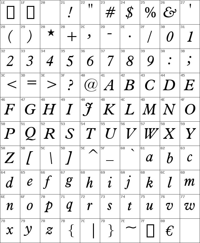Aldine721BT-Italic