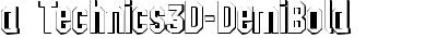 a_Technics3D-DemiBold