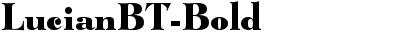 LucianBT-Bold