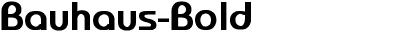 Bauhaus-Bold