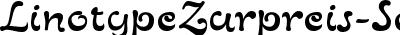 LinotypeZurpreis-SemiBold
