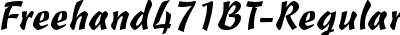 Freehand471BT-Regular