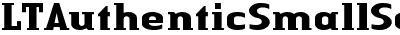 Linotype Authentic Small Serif Bold