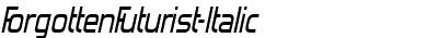 ForgottenFuturist-Italic