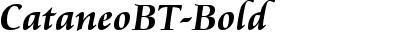 CataneoBT-Bold