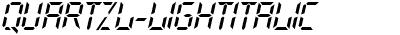 QuartzL Italic