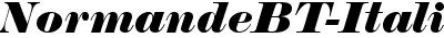 NormandeBT-Italic