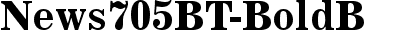 News 705 Bold BT