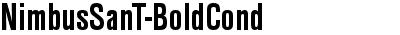 NimbusSanTCon Bold