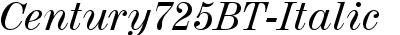 Century725BT-Italic