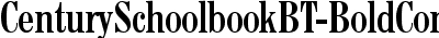 CenturySchoolbookBT-BoldC...