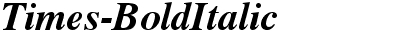 Times-BoldItalic