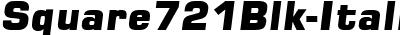 Square721Blk-Italic