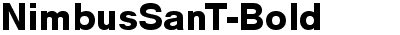 NimbusSanT Bold