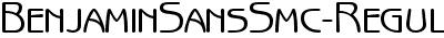 BenjaminSansSmc-Regular