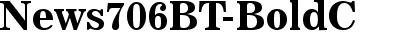 News 706 Bold BT
