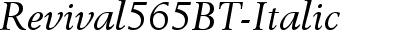 Revival565BT-Italic