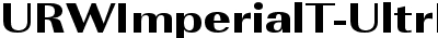 URWImperialT-UltrBoldExtr...
