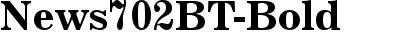 News702BT-Bold