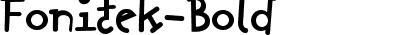 Fonitek-Bold