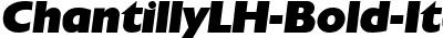 ChantillyLH-Bold-Italic