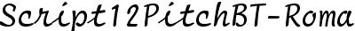Script12PitchBT-Roman
