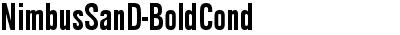 NimbusSanD-BoldCond