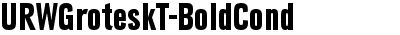 URWGroteskT-BoldCond