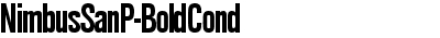 NimbusSanP-BoldCond