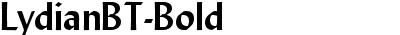 LydianBT-Bold