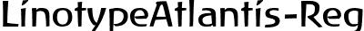 LinotypeAtlantis-Regular