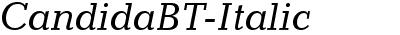CandidaBT-Italic