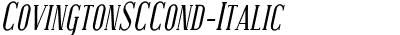 CovingtonSCCond-Italic