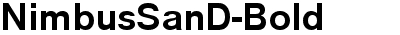 NimbusSanD-Bold
