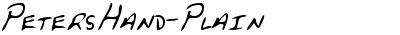 PetersHand-Plain