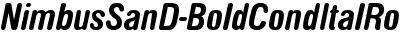NimbusSanD-BoldCondItalRo...