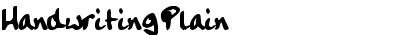 HandwritingPlain
