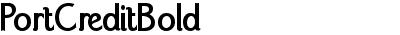PortCreditBold