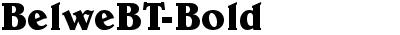 BelweBT-Bold