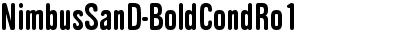 NimbusSanD-BoldCondRo1