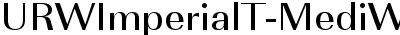 URWImperialT-MediWide